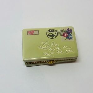 Hallmark Thinking of you Envelope Trinket/Pill box